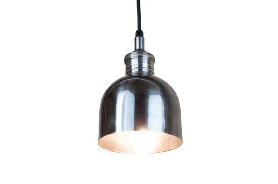 Lámpara plateada brillante Clipped