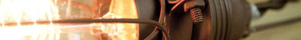Descriptivo Materiales  Lámpara portatil Olympia