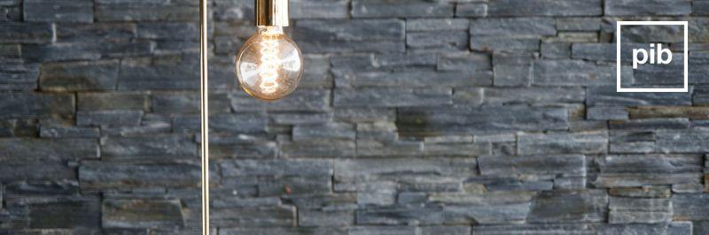 Lámparas de mesa modernas escandinavas pronto de nuevo en la colección