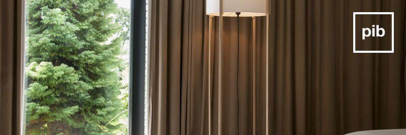Lámparas de pie modernas escandinavas pronto de nuevo en la colección