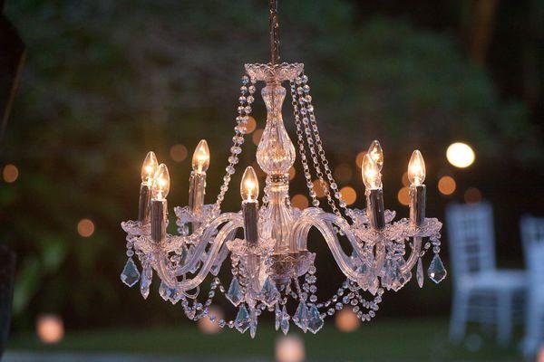 lámparas del estilo shabby chic
