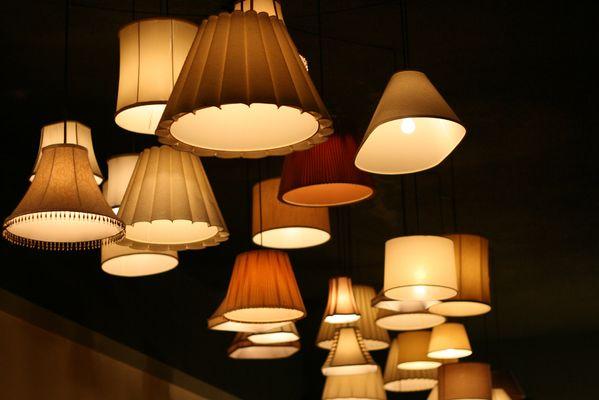 lámparas estilo shabby chic