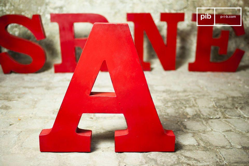 Letra decorativa A
