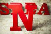 Letra decorativa N