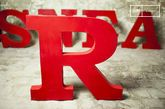 Letra decorativa R