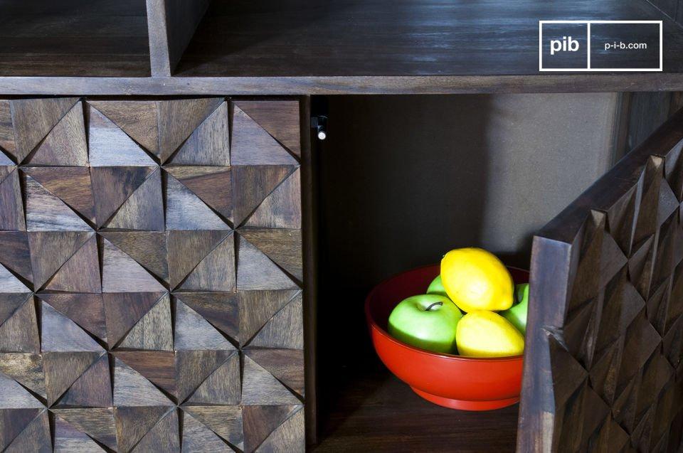 Detalles geométricos para lograr un efecto 100% vintage