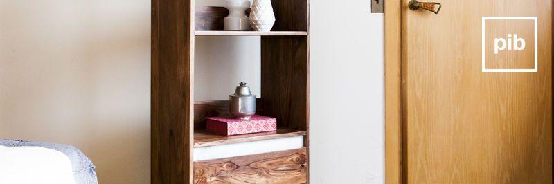 Librerías de madera maciza