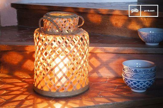 Linterna de bambú Saïgon