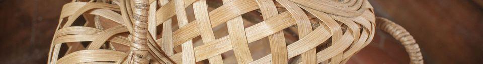 Descriptivo Materiales  Linterna de bambú Saïgon