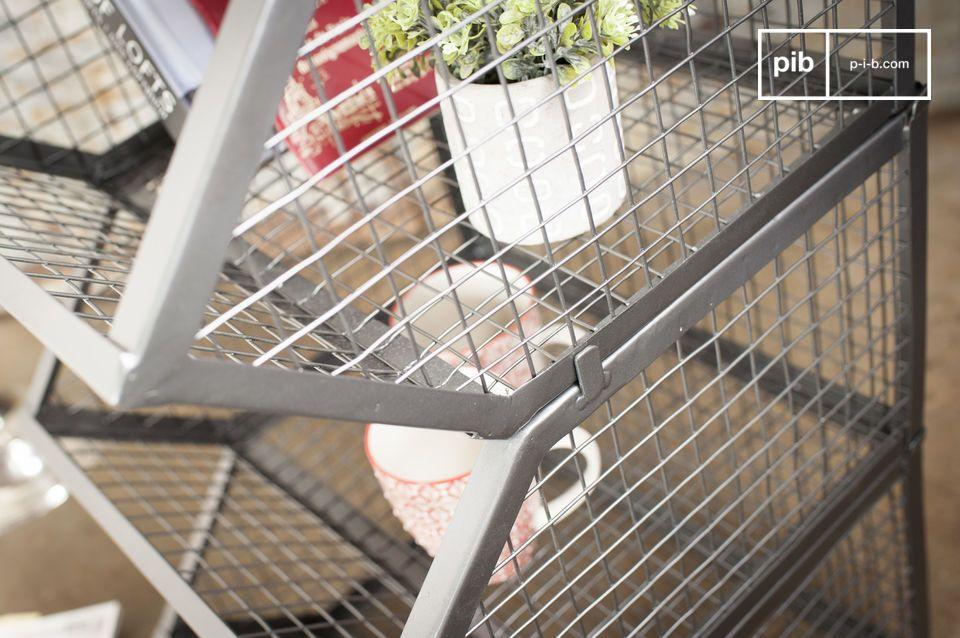 Montadas y pintadas a mano, estas 4 cestas combinan robustez, nobleza y facilidad de uso