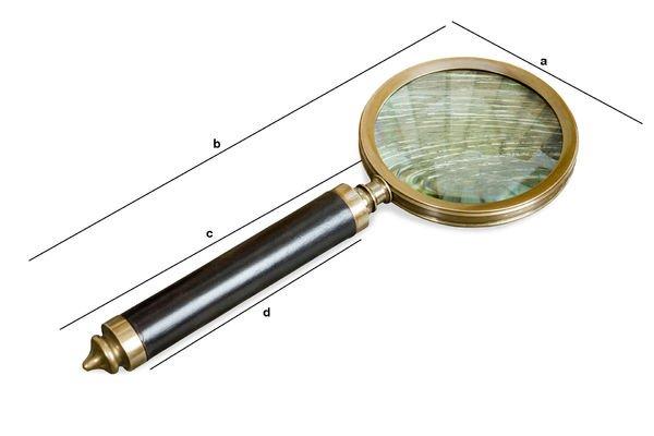 Dimensiones del producto Lupa Sherlock