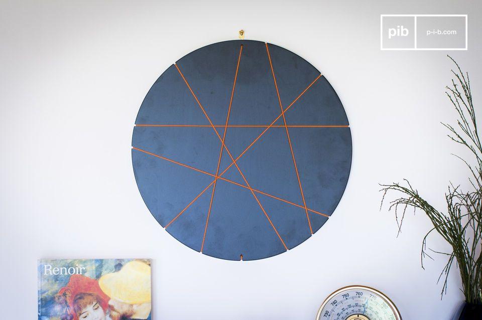 Este marco de fotos redondo con un diseño innovador le permitirá decorar su habitación o su