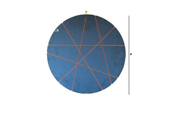 Dimensiones del producto Marco de fotos de pared Eerolinn