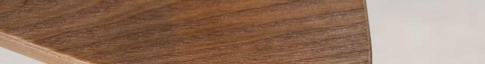 Descriptivo Materiales  Mesa auxiliar de madera Fleetwood