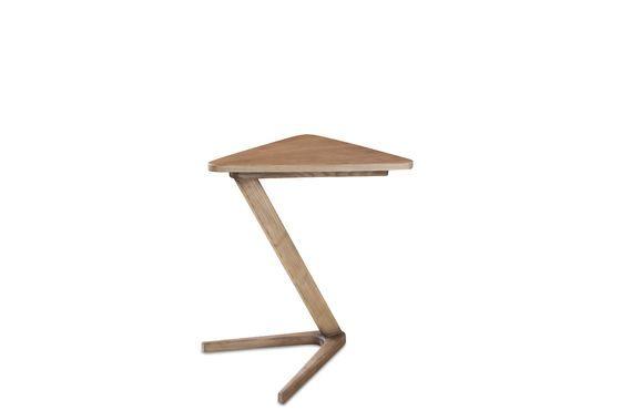 Mesa auxiliar de madera Fleetwood Clipped