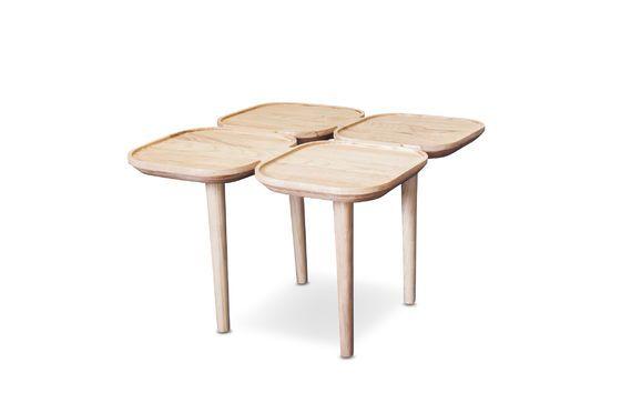 Mesa auxiliar de madera Kädri Clipped