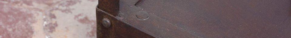 Descriptivo Materiales  Mesa auxiliar industrial
