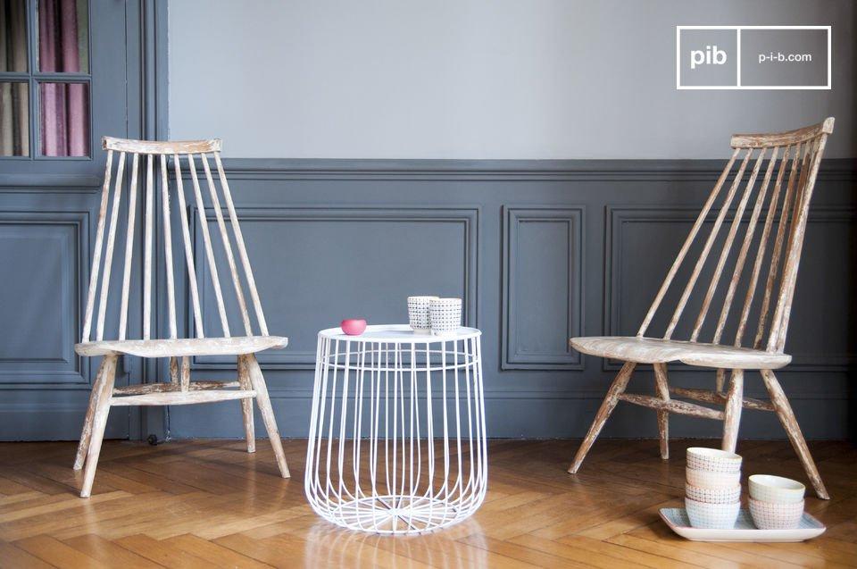 Hermosa mesa representante del diseño escandinavo