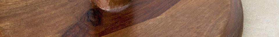 Descriptivo Materiales  Mesa auxiliar monopie Piwy