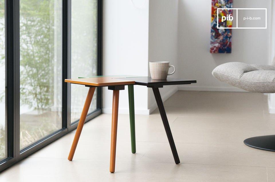 Mesa ajustable de colores