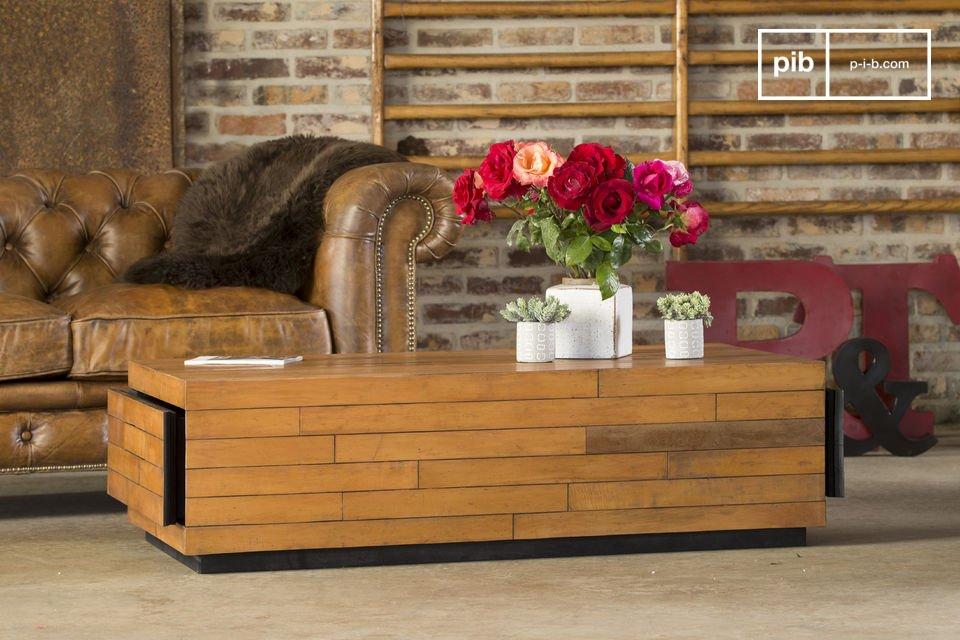 Mesa baja sheffield la exclusividad de un modelo pib for Mesas industriales vintage
