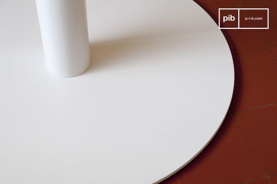 Mesa o pedestal, elegante diseño vintage y estilo muy refinado