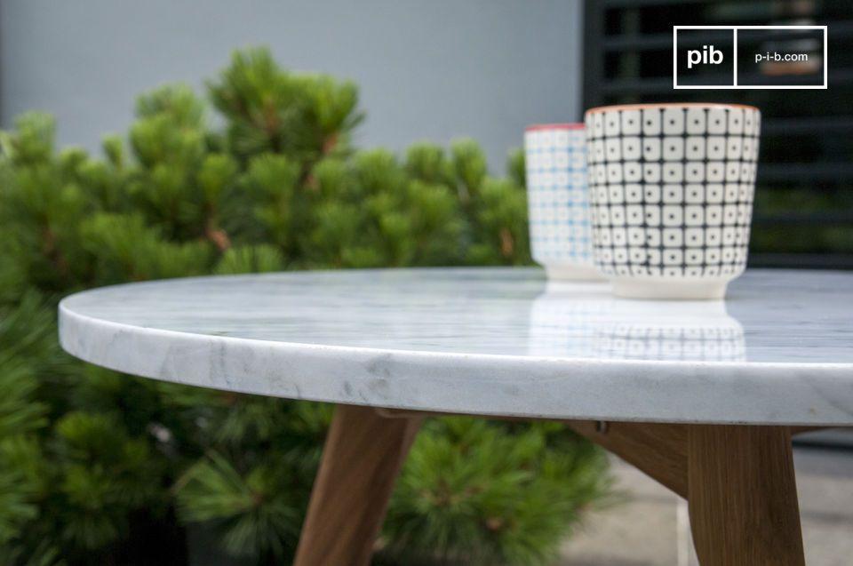 La mesa de centro Briët lo seducirá por su diseño Nórdico retro refinado