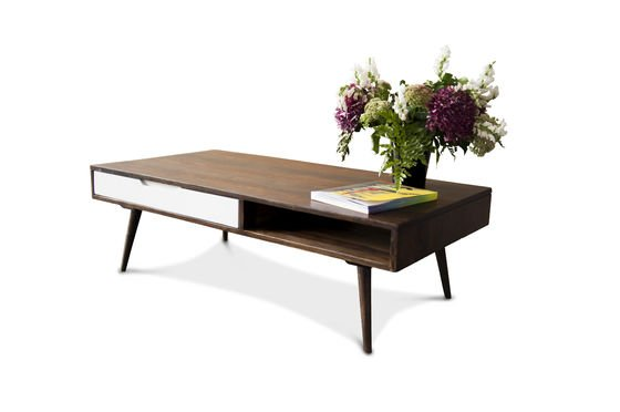 Mesa de centro Brown'n White Clipped