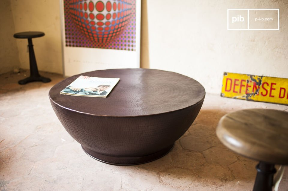 La mesa de centro Calaba es un mueble sin igual y totalmente único