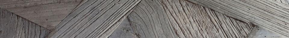 Descriptivo Materiales  Mesa de centro Charpente