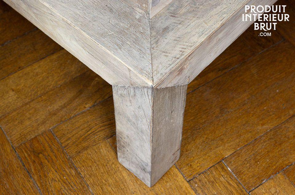 La mesa de centro Comtes de Provence ofrecerá un gran carácter rustico y elegante a su interior