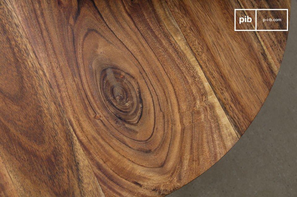 Una mesa ajustable con todo el estilo del diseño escandinavo