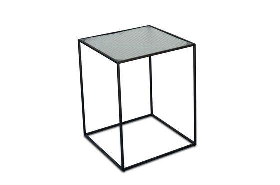 Mesa de centro de cristal Anne-Lise Clipped