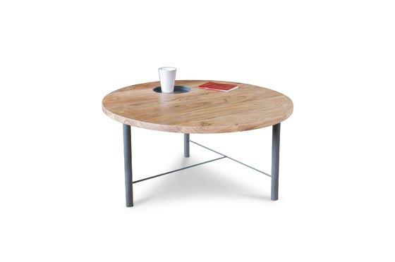 Mesa de centro de madera Bascole Clipped