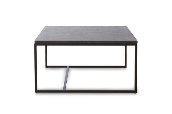 Mesa de centro de mármol negro Avedore Clipped