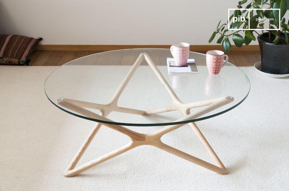 Una mesa de centro tan discreta como refinada