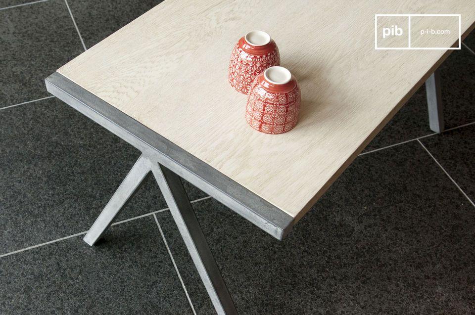 Un par de mesas con encanto nórdico