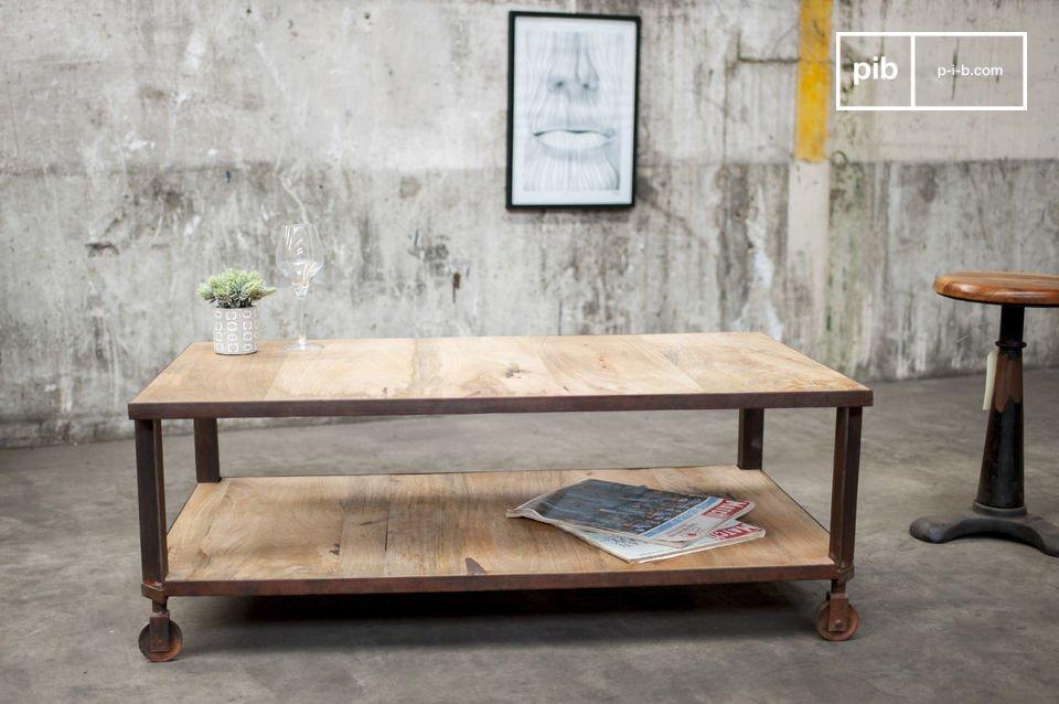 Esta mesa también es apreciada por su funcionalidad