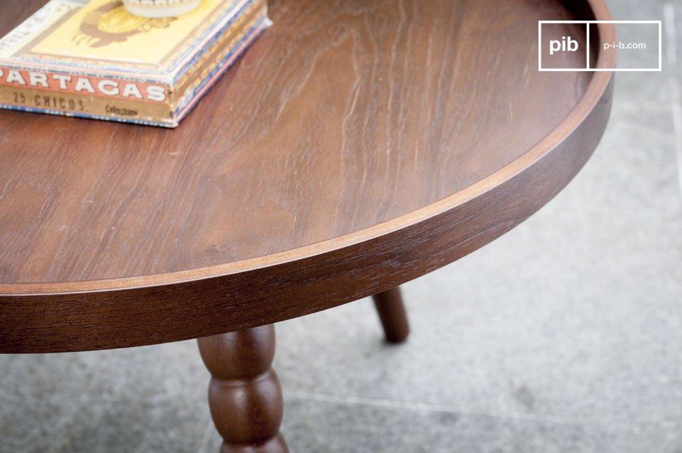 La mesa de centro Katalina es un mueble lleno de encanto que le dará un toque del estilo neo retro