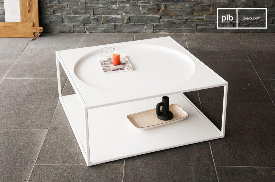 El encanto y la simpleza del estilo escandinavo en un hermoso mueble de metal