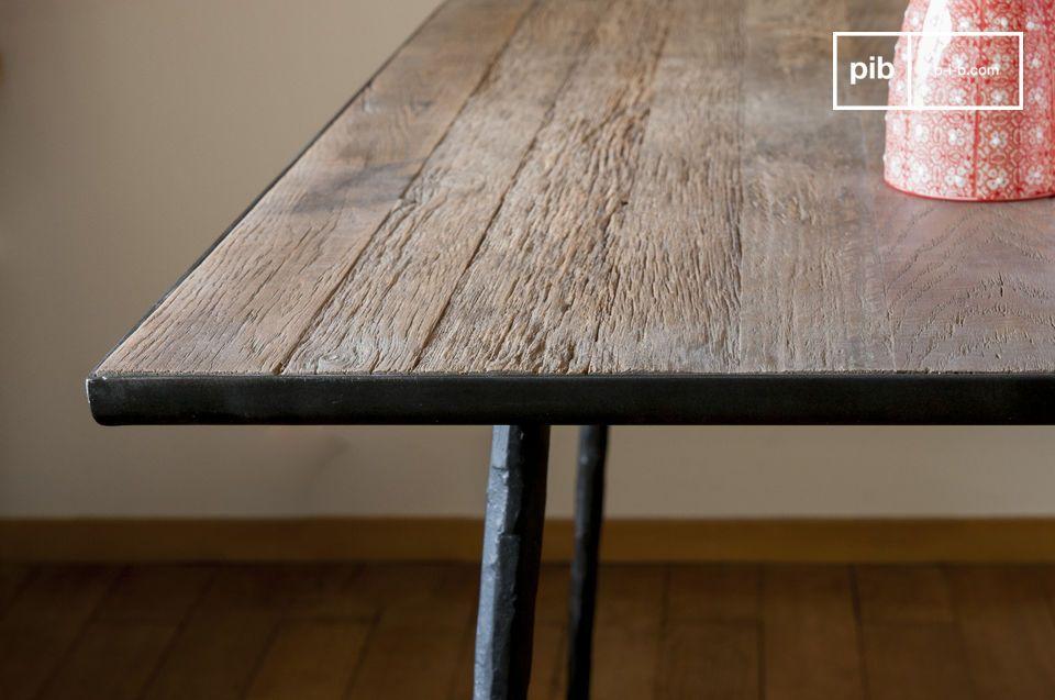Hacen que cada mesa sea única