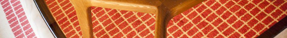 Descriptivo Materiales  Mesa de comedor de madera y vidrio Dagsmark