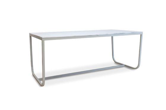 Mesa de comedor de mármol nórdico Gällo Clipped