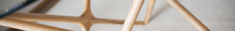 Descriptivo Materiales  Mesa de comedor de vidrio Estrella