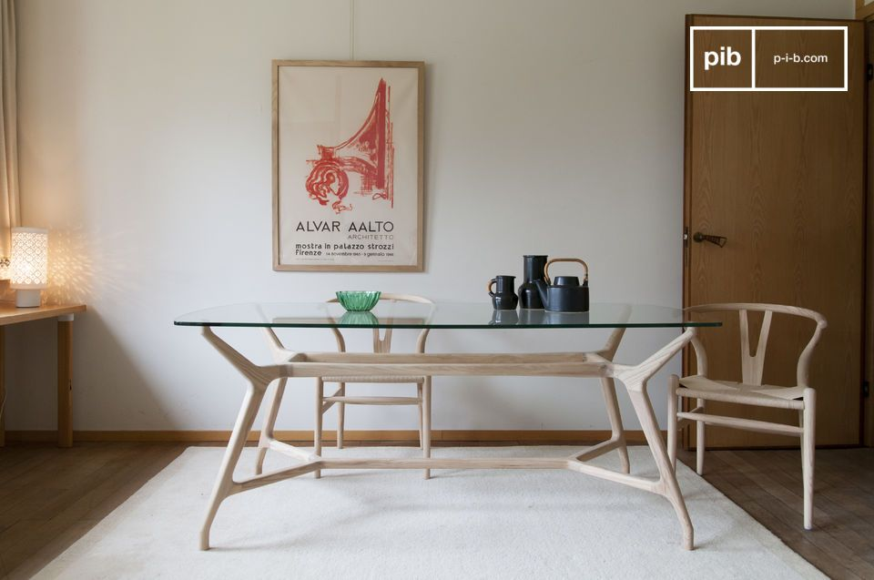 Inspirándose en los característicos de diseño escandinavos