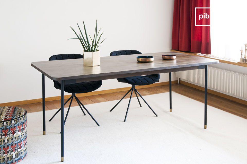 Mesa de comedor rectangular Lübeck