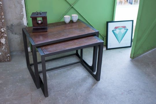 Mesa de dos piezas Bold