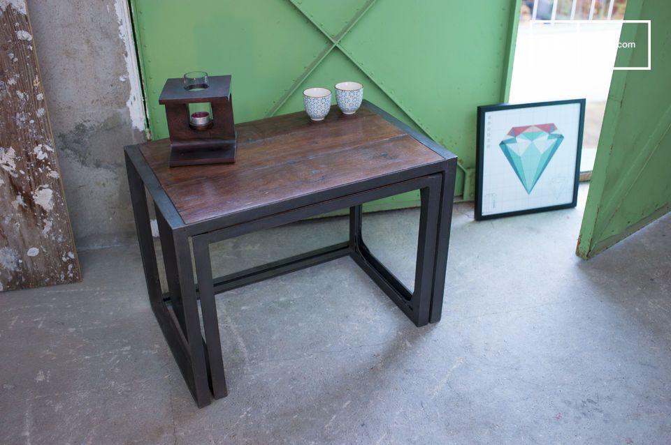 Mesa ajustable con un estilo 100% industrial