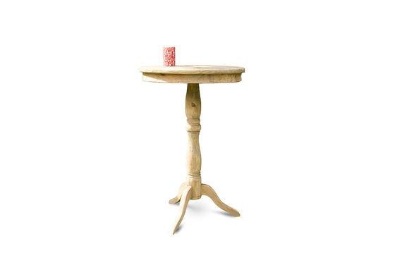 Mesa de madera Adèle Clipped