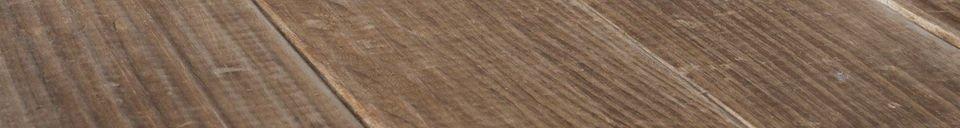 Descriptivo Materiales  Mesa de madera Elise